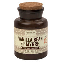 Apothecary Jar Candle - Vanilla Bean & Myrrh 8 oz - Vineyard Hill Naturals by Paddywax, Multi-Colored