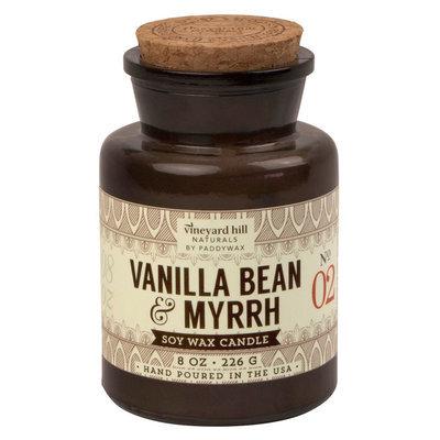 Apothecary Jar Candle - Vanilla Bean & Myrrh 8 oz - Vineyard Hill Naturals by Paddywax, Multi-Colored