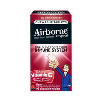 Airbone Original Berry Immune Support Chewable Tablets - 96 Count