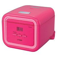 Tiger 3 Cup Electric Rice Cooker/Multi-Cooker, Pink