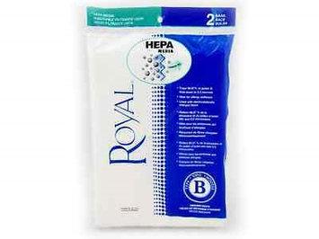 Royal Type B Upright Hepa Vacuum Cleaner Paper Bags 2PK # AR10110