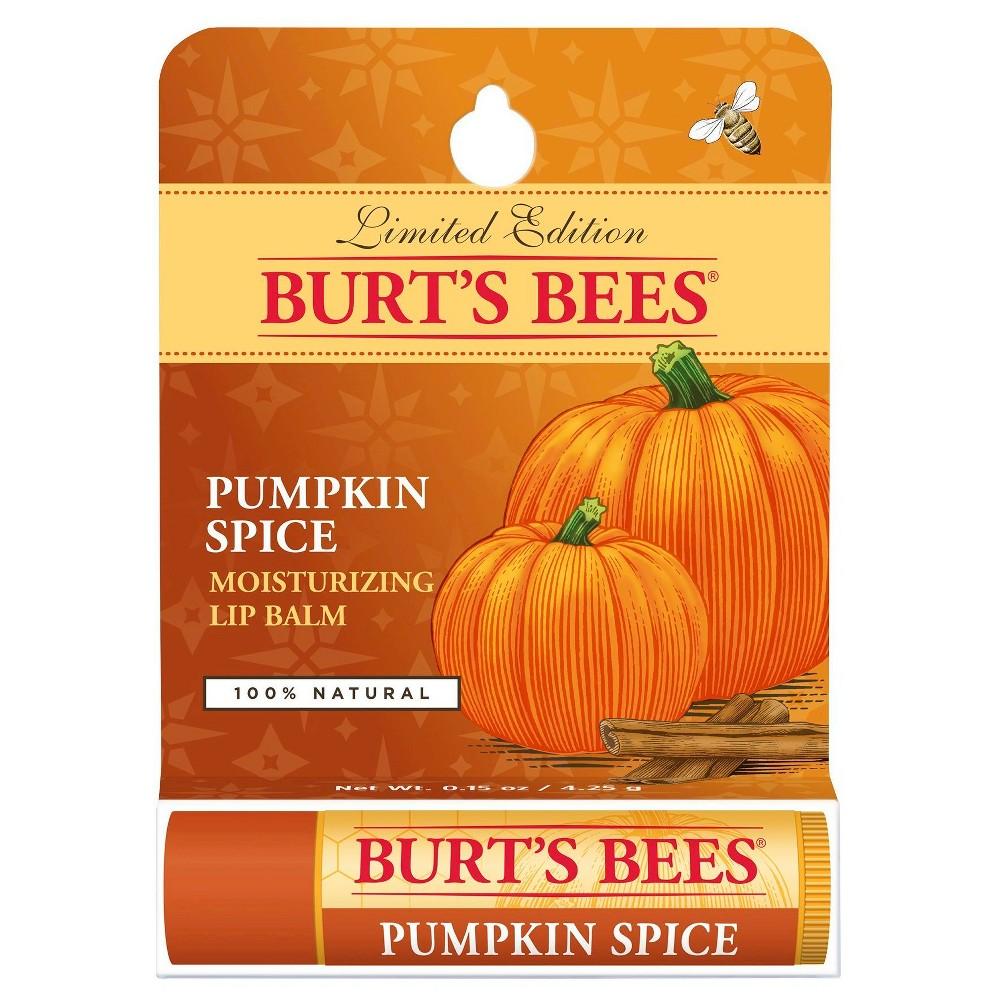 Burt's Bees Pumpkin Spice Lip Balm 0.15 oz