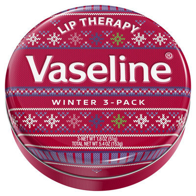 Vaseline Holiday Lip Tin Winter