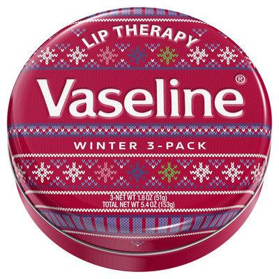 Vaseline Holiday Lip Tin Winter
