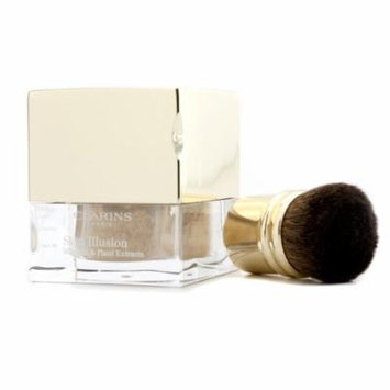 Skin Illusion Mineral & Plant Extracts Loose Powder Foundation (With Brush) - # 110 Honey 13g/0.4oz
