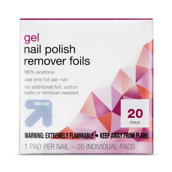 Gel Nail Polish Remover Pads 20 ct - up & up, Nail Polish Removers