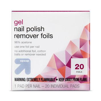 Gel Nail Polish Remover Pads 20 ct - up & up, Nail Polish Removers