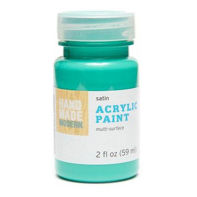 Plaid Enterprises, Inc. Hand Made Modern - 2oz Satin Acrylic Paint - Jade (Green)
