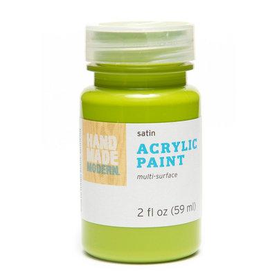 Plaid Enterprises, Inc. Hand Made Modern - 2oz Satin Acrylic Paint - Rosemary