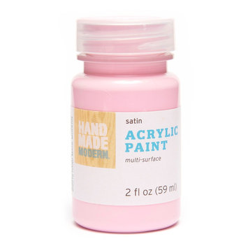 Hand Made Modern - 2oz Satin Acrylic Paint - Cherry Blossom