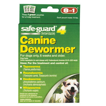 8 in 1 safe-guard 4 Canine Dewormer for Small Dogs
