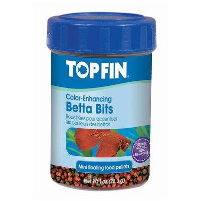 Top Fin® Betta Bits Color Enhancing Pellets Fish Food size: 1 Oz