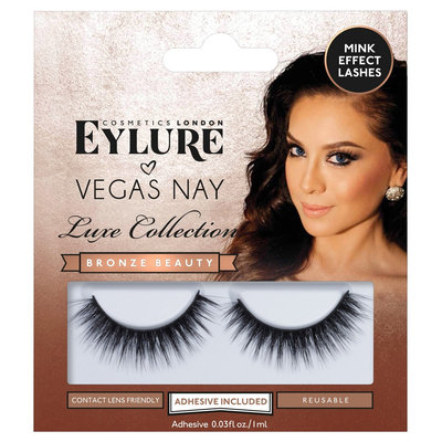 Eylure False Eyelashes VN Luxe Collection Bronze - 1 ct