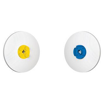 Iq Hong Kong Ltd LEGO Eraser, Blue and Yellow