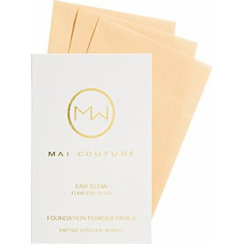 Mai Couture Foundation Powder Papier, Fair Glow