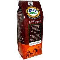 Ola's Exotic Super Premium Coffee Organic Fair-Trade Ethiopia AA Ground Coffee, 16-Ounce Bag