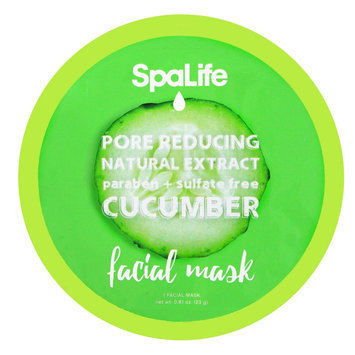 SpaLife Pore Reducing Facial Mask - Cucumber - 0.81 oz