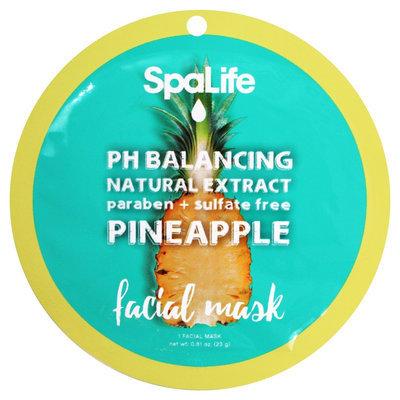 SpaLife PH Balancing Facial Mask - Pineapple - 0.81 oz