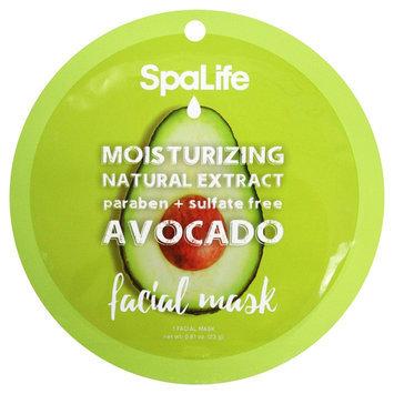 SpaLife Moisturizing Facial Mask - Avocado - 0.81 oz