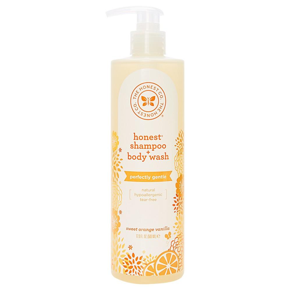 The Honest Co. Shampoo + Body Wash Sweet Orange Vanilla