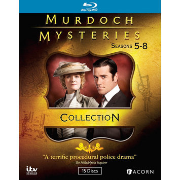 Alliance Entertainment Llc Murdoch Mysteries Collection 5-8 (blu-ray Disc)