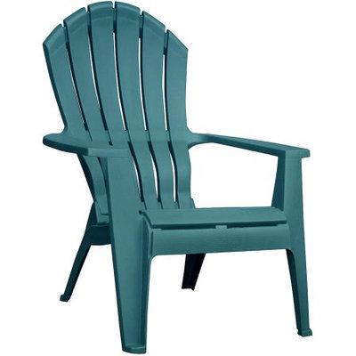 Adams Mfg Corp Hunter Green Resin Stackable Adirondack Chair 8371-16-3700