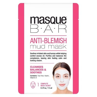 Masque Bar by Look Beauty Anti Blemish Mud Mask - 0.5 oz