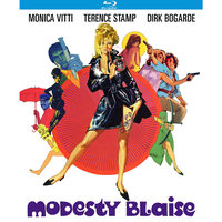 Alliance Entertainment Llc Modesty Blaise (blu-ray Disc)