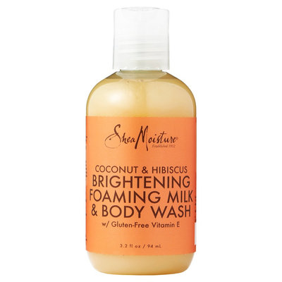 SheaMoisture Coconut & Hibiscus Brightening Foaming Milk & Body Wash