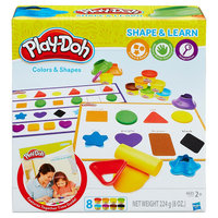 PD PLAYDOH COLORS AND SHAPES