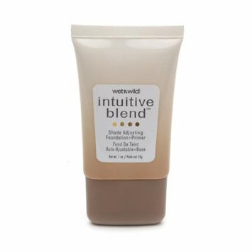 Wet N Wild Intuitive Blend Shade Adjusting Foundation and Primer, #177 Medium - 1 Oz, Pack of 3