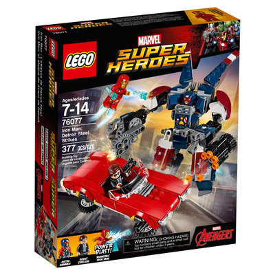 Lego Super Heroes Iron Man: Detroit Steel Strikes 76077
