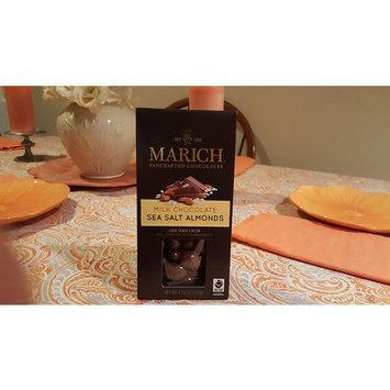 Marich Chocolates Milk Chocolate Sea Salt Almonds, 4.25 oz.