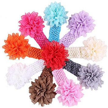 QandSweet Baby Girl's Headbands Hair Bows Accessories