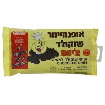 Oppenheimer Kosher Lactose Free Dark Chocolate Chips 3 Packs [Dark Chocolate]