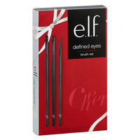 e.l.f. Defined Eyes Brush Set 3pc