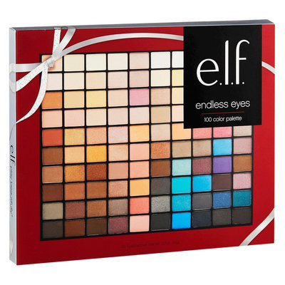 e.l.f. Endless Eyes 100 Color Eyeshadow Palette 3.17oz