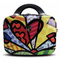 Heys USA Luggage Britto New Day Hard Side Beauty Case, Multi-Colored, One Size