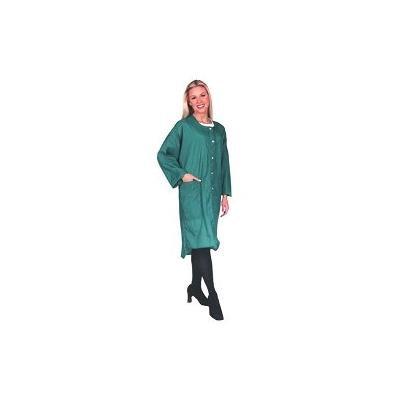 Scalpmaster Full Size Crinkle Nylon Uniform Snap Black