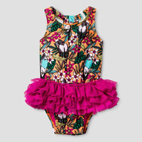 Baby Girls' Bird Print Tutu Cat & Jack - Pink 18M