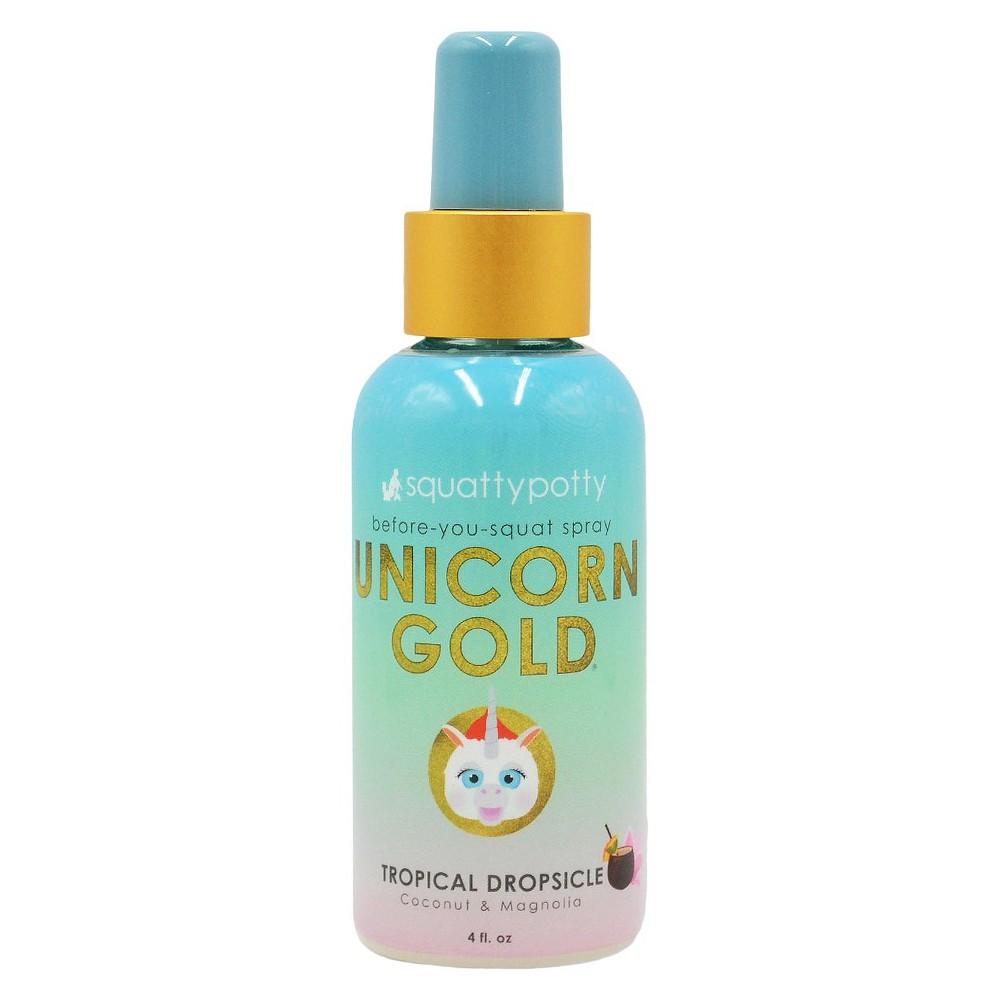 Unicorn Gold Air Freshener Spray Scent - Squatty Potty, Yellow