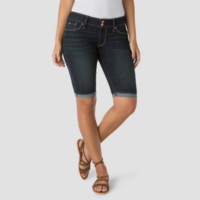 Denizen from Levi's Women's Modern Skinny Shorts - Paparazzi - 6, Dark