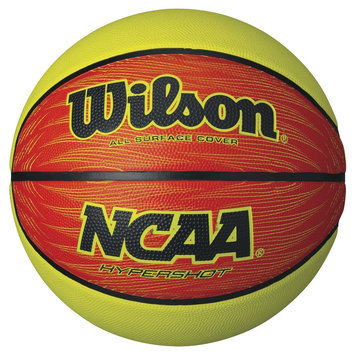 NCAA Hyper Shot Basketball - Lime Green/Orange