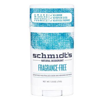 Schmidt's Natural Deodorant Fragrance Free 3.25 oz