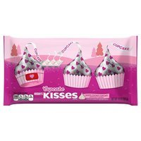 Hershey's Valentines White Cookie Cupcake Kisses