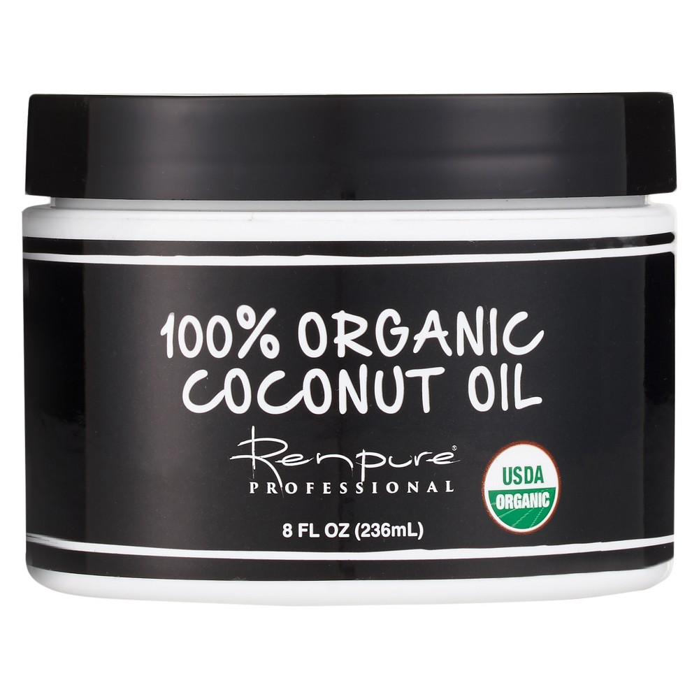 Renpure Professional 100% Organic Coconut Oil - 8 oz