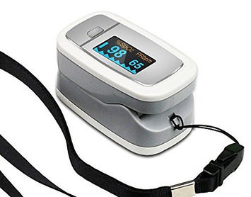 Easy At Home Easy@Home Fingertip Pulse Oximeter w/Dual-Color OLED Display, 4 directions, 6 modes, EHP 50D1