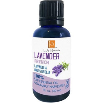 Long Aid Naturals 1133315 1 oz Lavender Essential Oil French - Case of 12