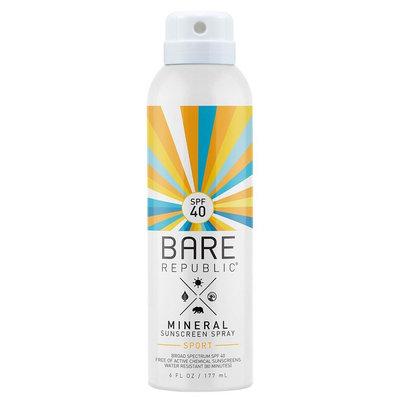 Bare Republic SPF40 Mineral Sport Spray 6 oz