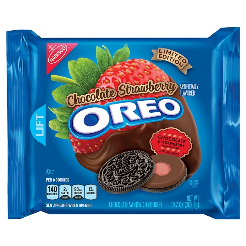 Nabisco Oreo Chocolate Cookies Strawberry